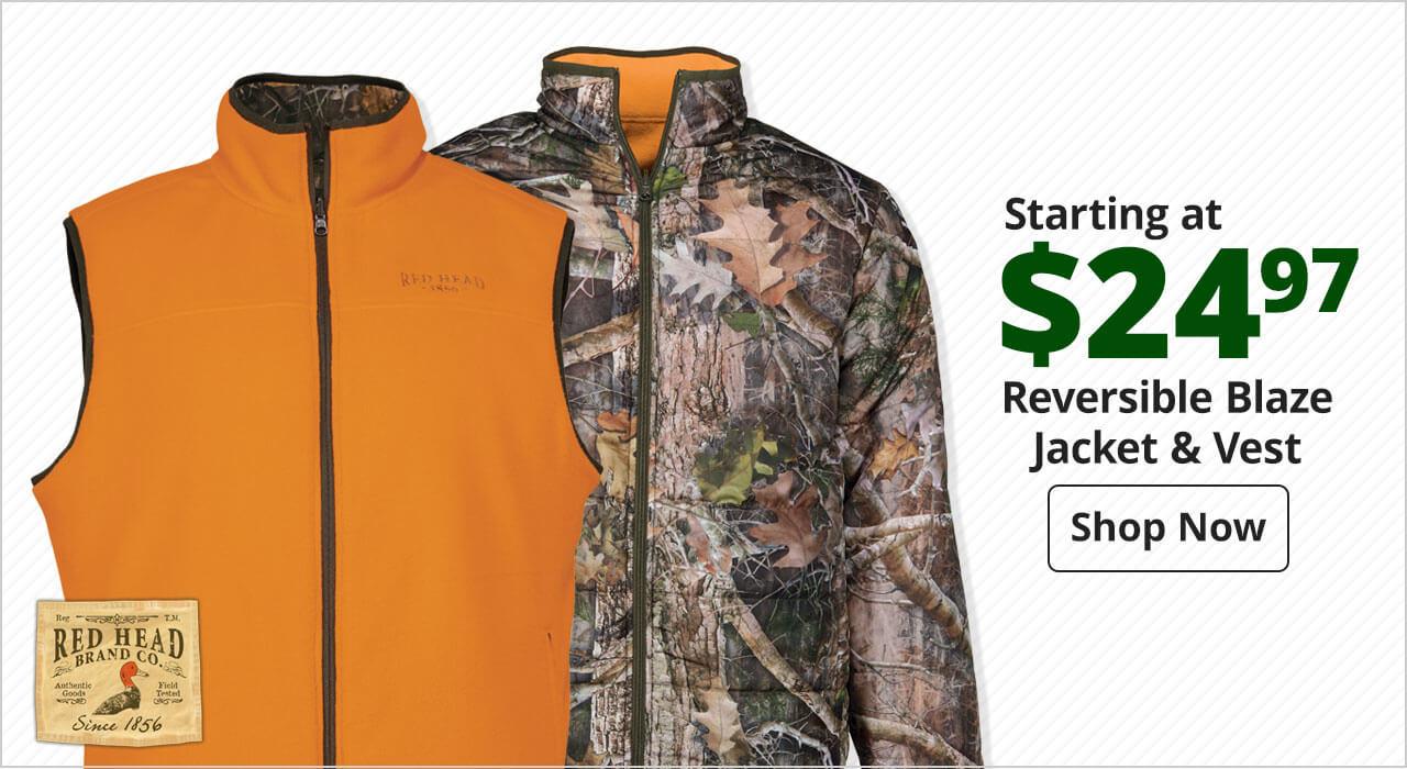 Startinga at $24.97 RedHead® Reversible Blaze Jacket & Vest - Shop Now