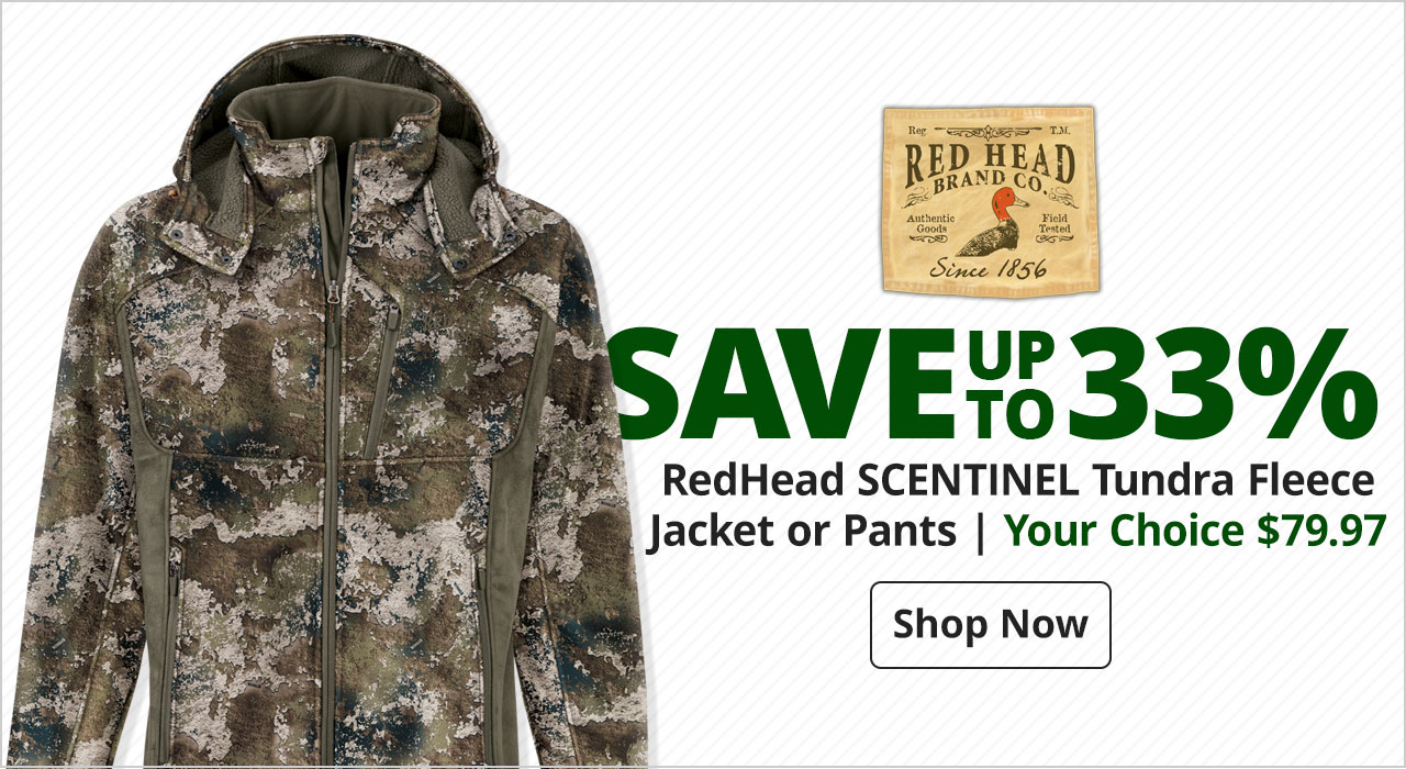 RedHead® SCENTINEL Tundra Fleece Jacket or Pants - Shop Now