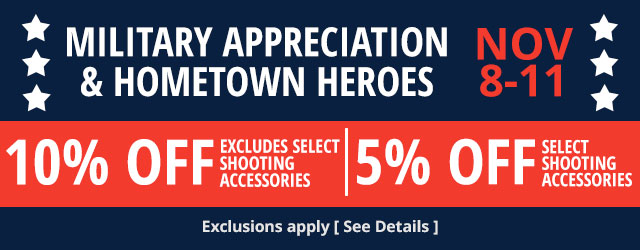 Military Appreciation & Hometown Heroes - November 8-11