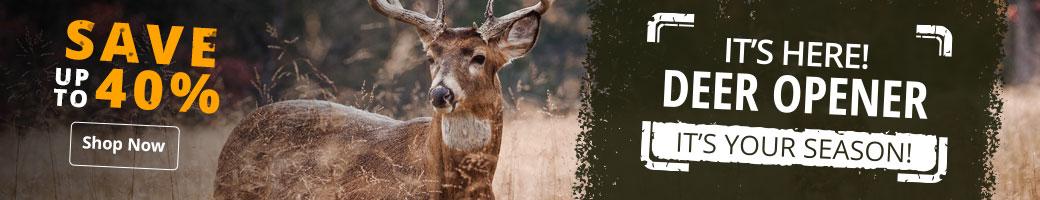 It's Here! Deer Opener - Shop Now