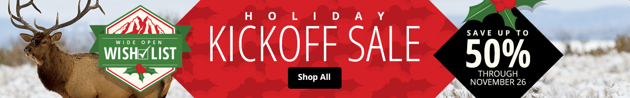 Holiday Kickoff Sale - Save up to 50%