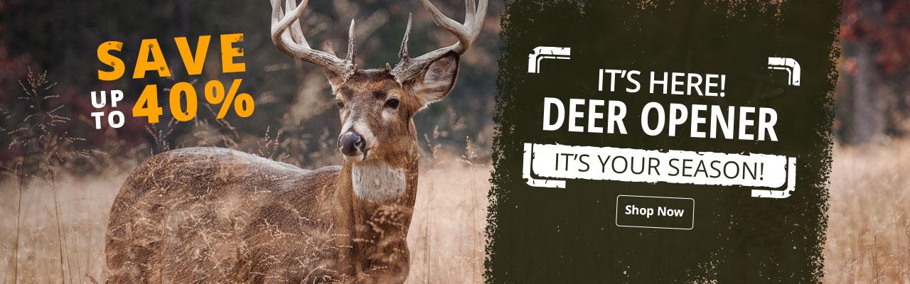 2019 Deer Opener Sale