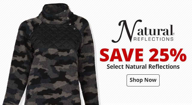 Save 25% on Select Natural Reflections