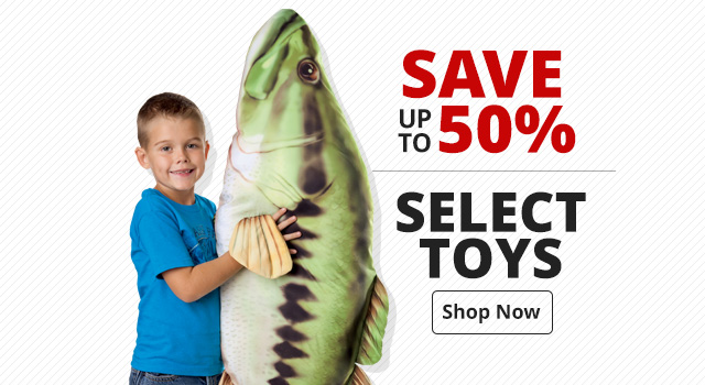 Save up to 50% on Select Toys