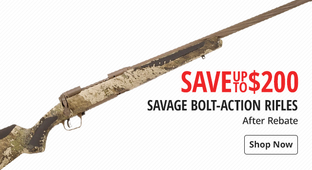 Savage Bolt-Action Rifles - Shop Now