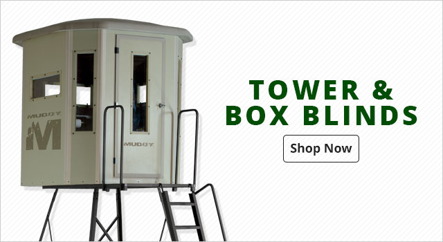 Tower and Box Blinds - Shop Now