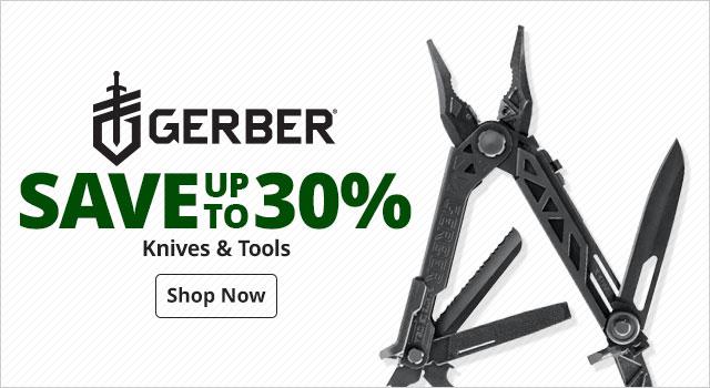 Gerber Knives & Tools - Shop Now