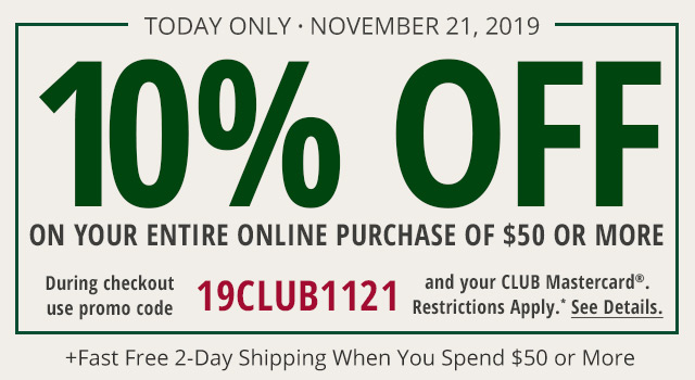 CLUB Offer - Learn More