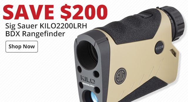 Save $200 on Sig Sauer KILO2200LRH BDX Rangefinder