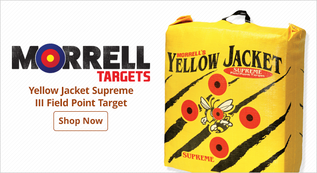 Morrell Yellow Jacket Supreme III Field Point Target - Shop Now