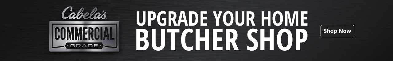 Commercial Grade - Upgrade Your Home Butcher Shop