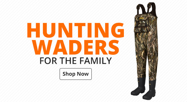 Waders for the family