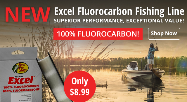 New Excel Fluorocarbon Fishing Line