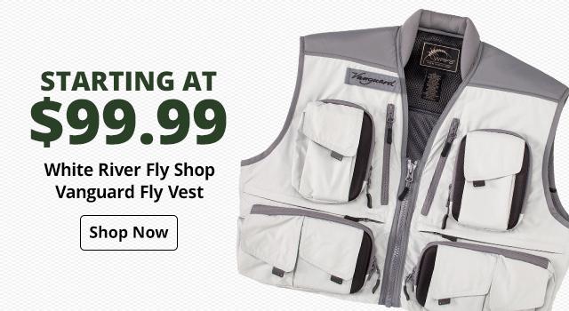 White River Fly Shop Vanguard Fly Vest