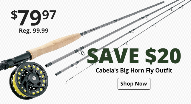 Cabela's Big Horn Fly Outfit