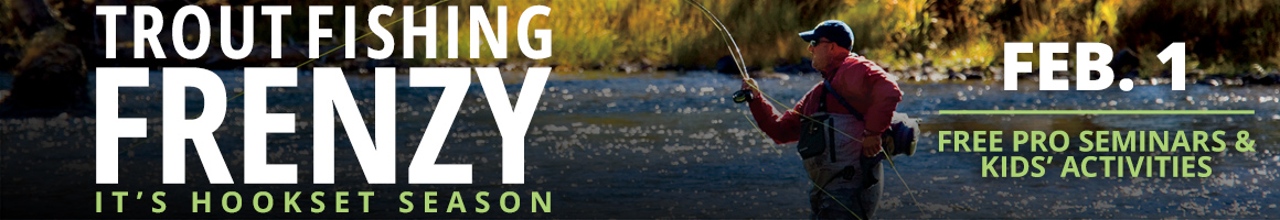 Crappie Madness In-Store Event - February 1