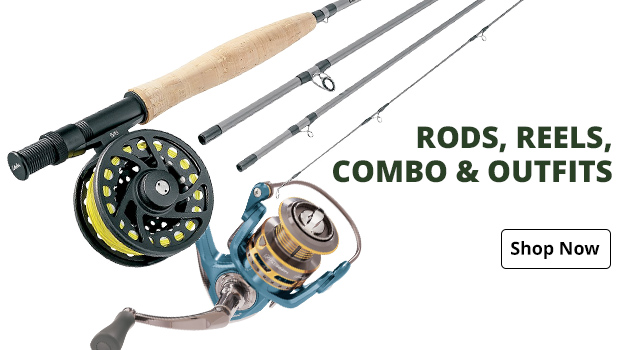 Rods, Reels, Combo & Outfits
