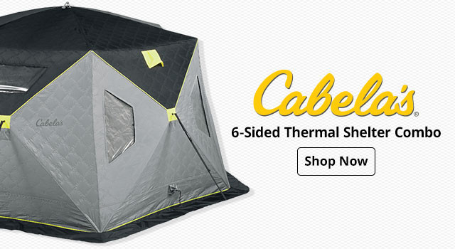 Cabelas 6-Sided Thermal Shelter Combo
