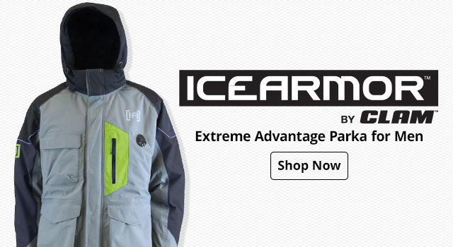 IceArmor By Clam Extreme Advantage Parka for Men