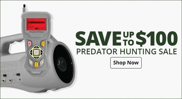 Predator Hunting Sale - Shop Now