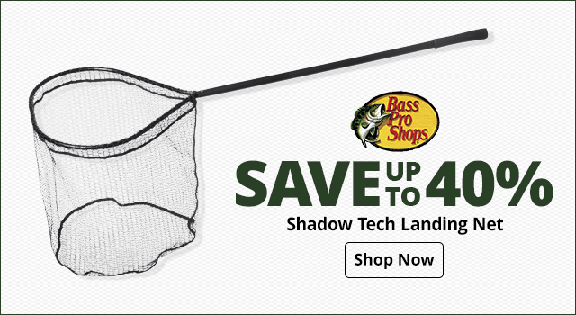 Bass Pro Shops Shadow Tech Landing Net - Shop Now