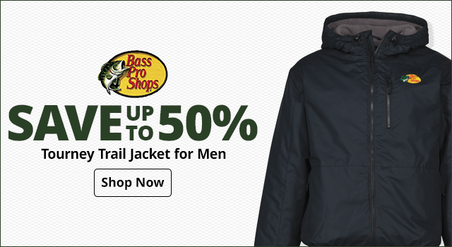 Bass Pro Shops Tourney Trail Jacket for Men- Shop Now