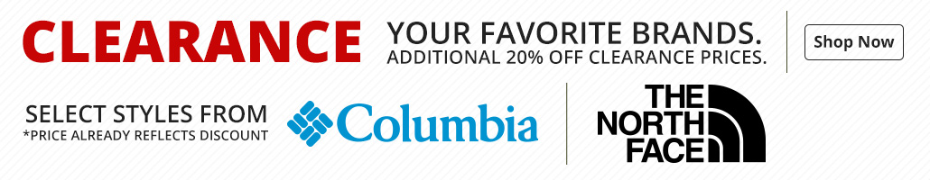 Save on Columbia and The North Face Outerwear and Fleece