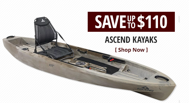 Ascend Kayaks - Shop Now