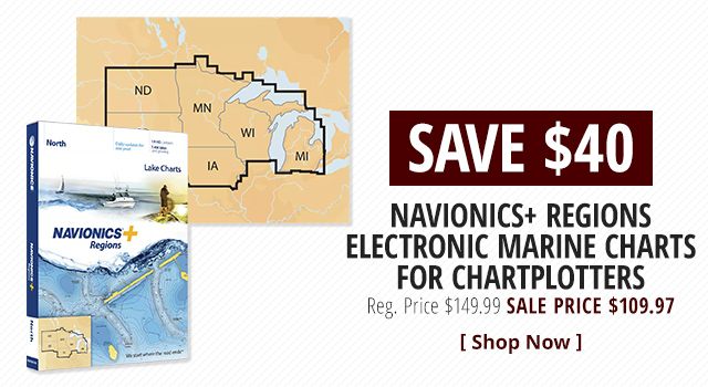 Navionics+ Regions Electronic Marine Charts for Chartplotters - Shop Now