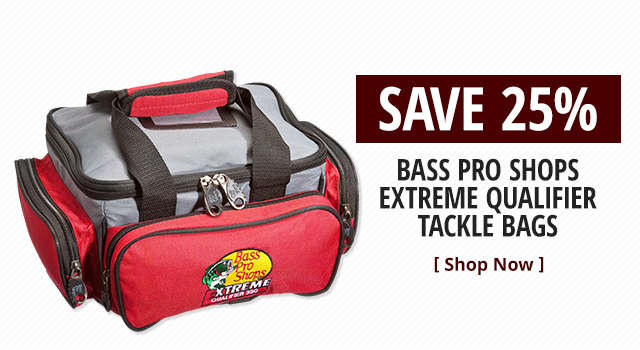 Extreme Qualifier Tackle Bags - Shop Now
