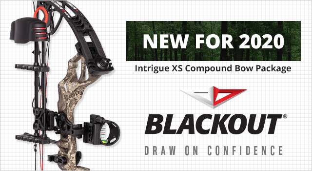 BlackOut Intrigue XS Compound Bow Package - Shop Now