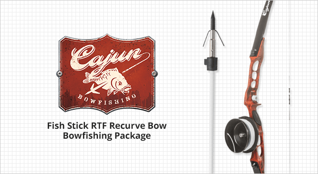 Cajun Archery Bowfishing Fish Stick RTF Recurve Bow Bowfishing Package - Shop Now