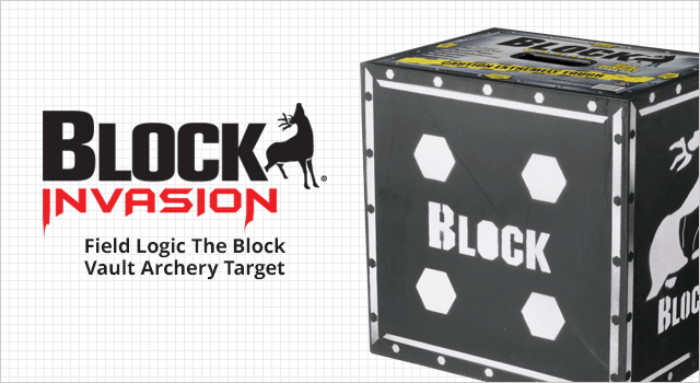 Field Logic The Block Vault Archery Target - Shop Now