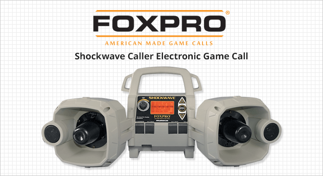 FOXPRO Shockwave Caller Electronic Game Call - Shop Now
