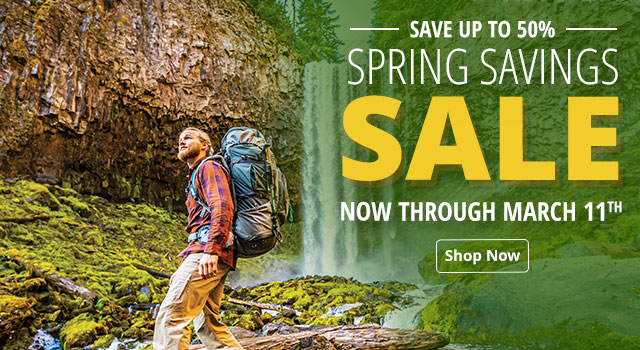 Spring Savings Sale