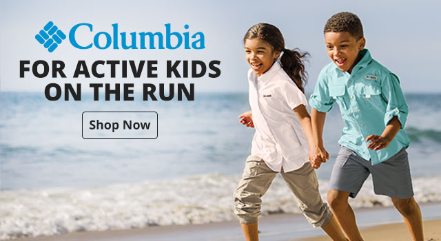 Columbia - For Active Kids on the run