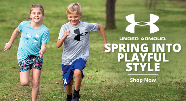 Under Armour - Spring into Playful Style