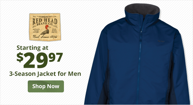RedHead 3-Season Jacket for Men  - Shop Now