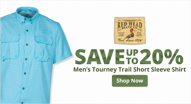 RedHead Tourney Trail Short Sleeve Shirt - Shop Now