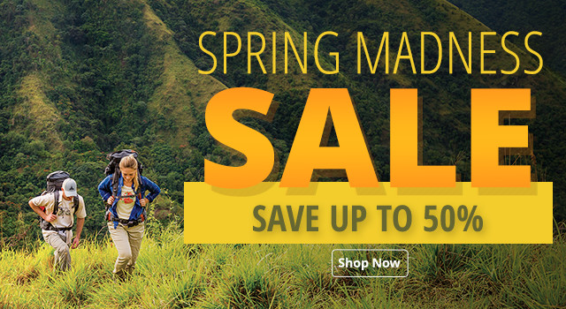 Spring Madness Sale - Save up to 50%