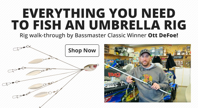 Everything You Need to Fish an Umbrella Rig