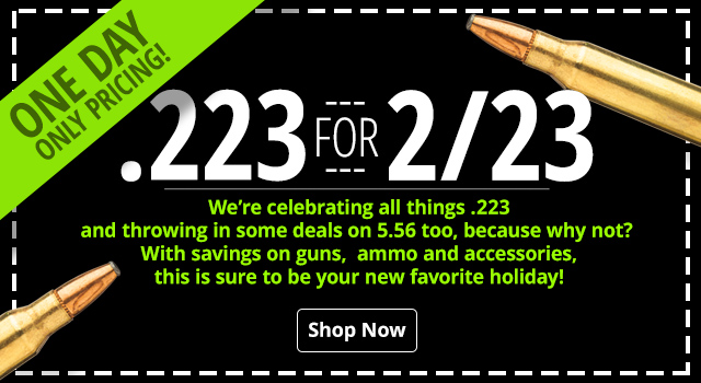 It's 2/23 Day! - Save on Shooting Gear and Accessories