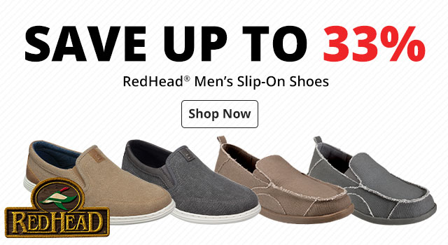 Save Up to 33% RedHead® Men's Slip-On Shoes