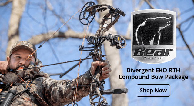 Bear Archery Divergent EKO RTH Compound Bow Package