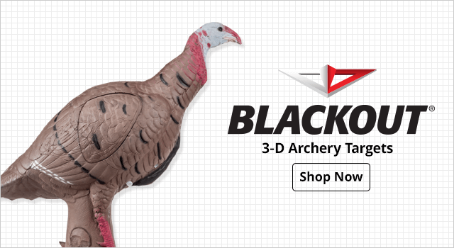 BlackOut Turkey 3D Archery Target - Shop Now