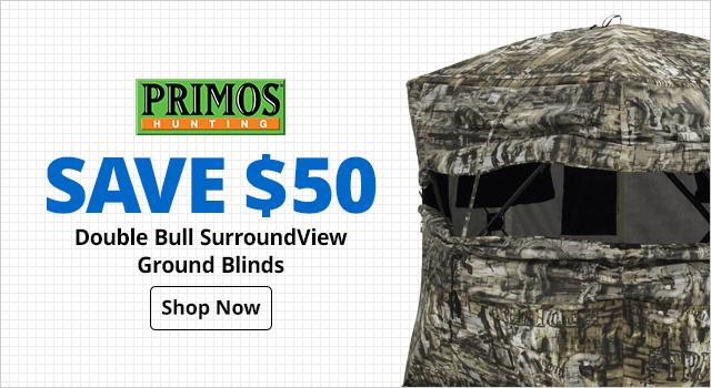 Primos® Double Bull Surround  Ground Blinds