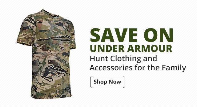 Save on Under Armour Hunt Clothing and Accessories for the family