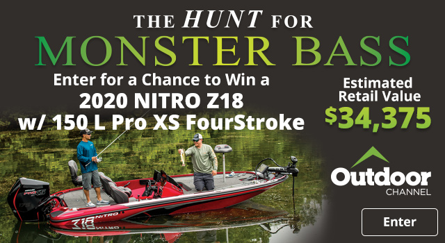 The Hunt For Monster Bass - Enter