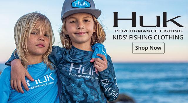 HUK Kids' Fishing Clothing