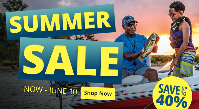 Summer Sale - Save up to 40%